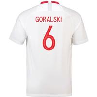 2018-19 Poland Home Shirt (Goralski 6) - Kids