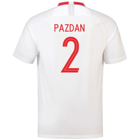 2018-19 Poland Home Shirt (Pazdan 2)