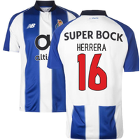 2018-19 Porto Home Football Shirt (Herrera 16)