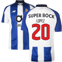 2018-19 Porto Home Football Shirt (Lopez 20) - Kids