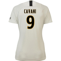 2018-19 Psg Away Womens Shirt (Cavani 9)
