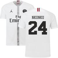 2018-19 PSG Third Shirt White (Nkunku 24) - Kids
