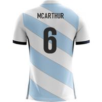 2018-19 Scotland Airo Concept Away Shirt (McArthur 6)