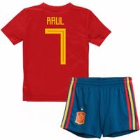 2018-19 Spain Home Baby Kit (Raul 7)