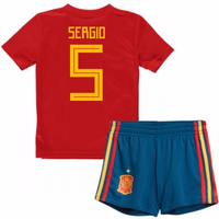 2018-19 Spain Home Baby Kit (Sergio 5)