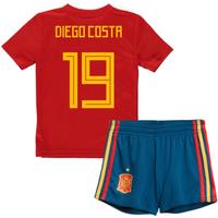 2018-19 Spain Home Mini Kit (Diego Costa 19)