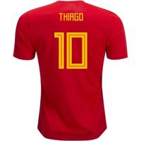 2018-19 Spain Home Shirt (Thiago 10)
