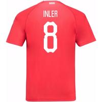 2018-19 Switzerland Home Shirt (Inler 8)