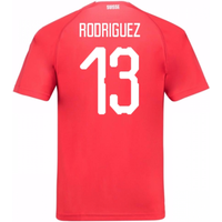2018-19 Switzerland Home Shirt (Rodriguez 13)