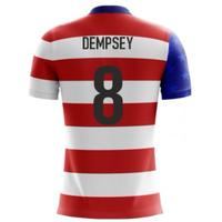 2018-19 USA Airo Concept Home Shirt (Dempsey 8)
