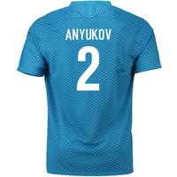 2018-19 Zenit St Petersburg Home Shirt (Anyukov 2)