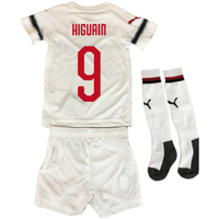 2018-2019 Ac Milan Puma Away Mini Kit (higuain 9)