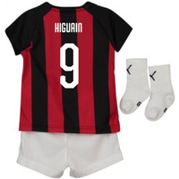 2018-2019 AC Milan Puma Home Baby Kit (Higuain 9)