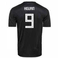 2018-2019 Argentina Away Adidas Football Shirt (Higuain 9) - Kids