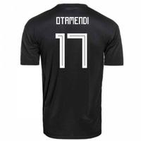 2018-2019 Argentina Away Adidas Football Shirt (Otamendi 17)