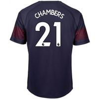 2018-2019 Arsenal Puma Away Football Shirt (Chambers 21)