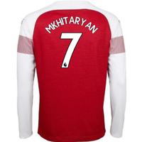 2018-2019 Arsenal Puma Home Long Sleeve Shirt (Mkhitaryan 7)