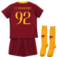 2018-2019 AS Roma Home Nike Infants Kit (El Shaarawy 92)