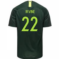2018-2019 Australia Away Nike Football Shirt (Irvine 22)