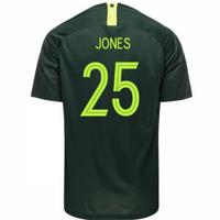 2018-2019 Australia Away Nike Football Shirt (Jones 25)