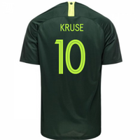 2018-2019 Australia Away Nike Football Shirt (Kruse 10)