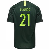 2018-2019 Australia Away Nike Football Shirt (Luongo 21)