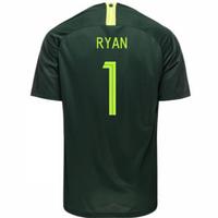 2018-2019 Australia Away Nike Football Shirt (Ryan 1)
