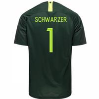 2018-2019 Australia Away Nike Football Shirt (Schwarzer 1)