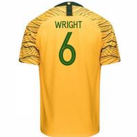 2018-2019 Australia Home Nike Football Shirt (Wright 6)