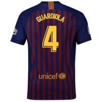 2018-2019 Barcelona Home Nike Football Shirt (Guardiola 4) - Kids