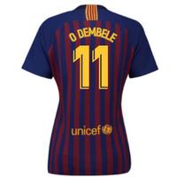 2018-2019 Barcelona Home Nike Ladies Shirt (O Dembele 11)