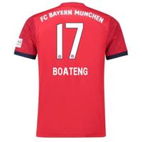 2018-2019 Bayern Munich Adidas Home Football Shirt (Boateng 17)