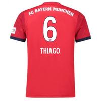 2018-2019 Bayern Munich Adidas Home Football Shirt (Thiago 6)