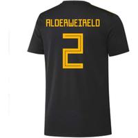 2018-2019 Belgium Adidas Training Shirt (Black) (Alderweireld 2) - Kids