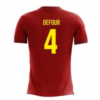 2018-2019 Belgium Airo Concept Home Shirt (Defour 4)