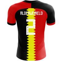 2018-2019 Belgium Flag Concept Football Shirt (Alderweireld 2)