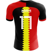 2018-2019 Belgium Flag Concept Football Shirt (Boyata 17) - Kids