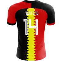 2018-2019 Belgium Flag Concept Football Shirt (Mertens 14) - Kids