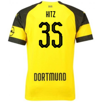 2018-2019 Borussia Dortmund Puma Home Football Shirt (Hitz 35) - Kids