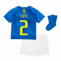 2018-2019 Brazil Away Nike Baby Kit (Cafu 2)