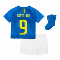 2018-2019 Brazil Away Nike Baby Kit (Ronaldo 9)