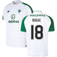 2018-2019 Celtic Away Football Shirt (Rogic 18)