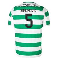 2018-2019 Celtic Home Football Shirt (Simunovic 5)