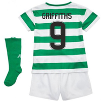 2018-2019 Celtic Home Little Boys Mini Kit (Griffiths 9)