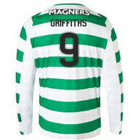 2018-2019 Celtic Home Long Sleeve Shirt (Griffiths 9)