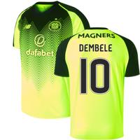 2018-2019 Celtic Third Football Shirt (Dembele 10)