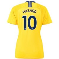 2018-2019 Chelsea Away Nike Ladies Shirt (Hazard 10)