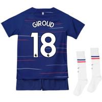 2018-2019 Chelsea Home Nike Baby Kit (Giroud 18)