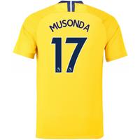 2018-2019 Chelsea Nike Vapor Away Match Shirt (Musonda 17)