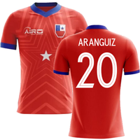2018-2019 Chile Home Concept Football Shirt (Aranguiz 20)